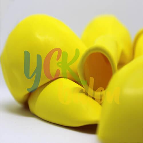 """27"""" Jumbo Balon Makaron Açık Sarı"""