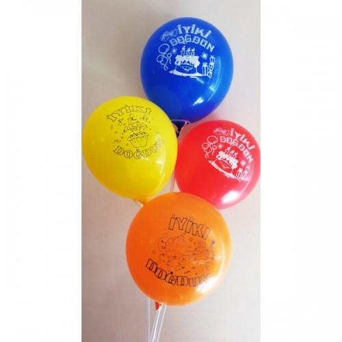 İyiki Doğdun Hazır Baskılı Balon